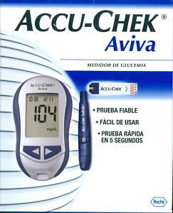 MEDIDOR DE GLUCOSA EN SANGRE Accu-Chek Aviva - 10.6 EUR