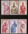 AÑO 1962 BERRUGUETE NUEVOS S/F EDIFIL Nº 1438/1443**