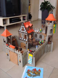 playmobil castle instructions 3666