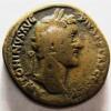 MQ Antoninus Pius sestertius Salus and snake