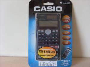 CASIO SCIENTIFIC CALCULATOR fx - 115MS