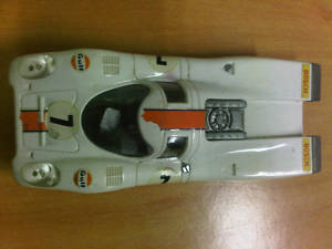 PORSCHE 917 C46 SCALEXTRIC EXIN SPAIN WHITE OLD MOTOR