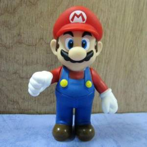 Nintendo Super Mario Bros MARIO Action Figure Toy 4.6''