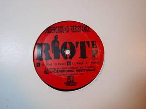 Underground Resistance Riot EP Detroit Techno