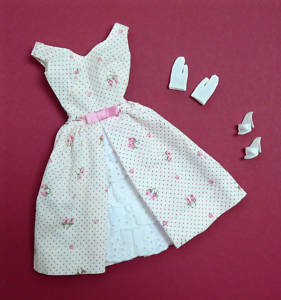 Vintage  Barbie  Outfit  GARDEN PARTY  -  KOMPLETT  !!!