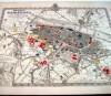 MAPA ZARAGOZA Plano De Zaragoza Año 1908 Esc. 1:50000