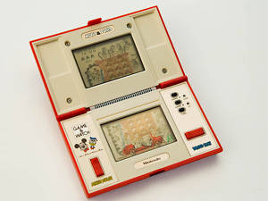 Game & Watch NINTENDO MICKEY & DONALD 1982 VINTAGE