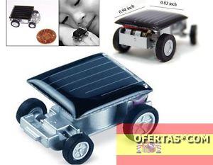 El coche panel solar mas peque o motor electrico 1 eur for Panel solar pequeno