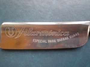 Rare Filarmonica Barbas Duras Straight Razor 7/8''