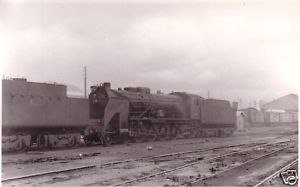 RENFE Spanish Railways Steam Loco 241 2072 Miranda 1965