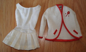 Vintage Barbie Tennis Anyone? Outfit Great  1 DAY