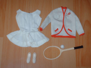 Vintage Barbie Outfit #941 Tennis Anyone?