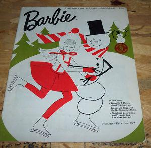 Barbie Mattel magazine Nov-Dec 1965