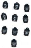 WARHAMMER 40K BITS IG CADIAN SHOCK TROOPS - 10x TORSO