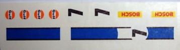PORSCHE 917 LINEA AZUL CALCAS EXIN SCALEXTRIC