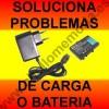 CARGADOR+BATERIA Nintendo DS Lite. Fallo problema carga