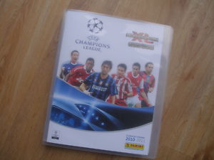 Panini ADRENALYN XL CHAMPIONS  2010/11 BINDER+325 CARDS
