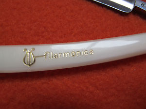 Straight razor Filarmonica doble temple, 4/8 NOS