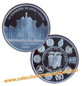 *jcr_m*ECUADOR - 25000 SUCRES 2005 NAUTICA IBERO-AMERIC