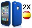 ¡¡ELIGE COLOR!! 2 X FUNDA SILICONA IPHONE 4 4G CALIDAD!