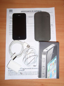 IPHONE 4 16GB DE ORANGE CON FUNDA Y GARANTIA