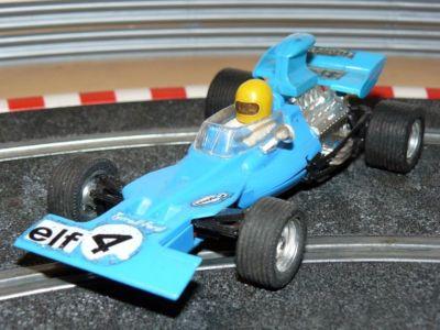 Scalextric EXIN MEX Tyrrell Ford Azul Turquesa Mexico