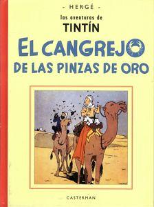 TINTIN EL CANGREJO DE LAS PINZAS DE ORO  CASTERMAN/PAN