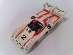 EXIN SCALEXTRIC ALPINE-RENAULT 2000 T BLANCO CARROCERIA
