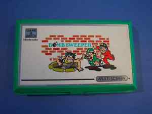 LCD Game and watch multi screen NINTENDO Bomb Sweeper