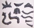 Skaven RAT OGRE TAILS BACKS & CHAINS bits Warhammer