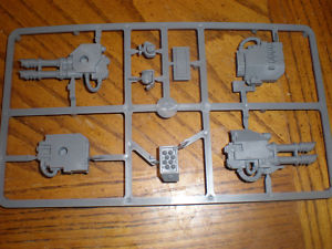 Space Marine Dreadnought Weapons Bits