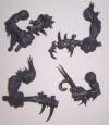 Orcs & Goblins RIVER TROLL CLUB ARMS x4 bits Warhammer