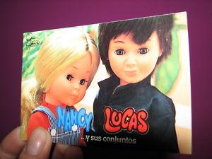 Catálogo Nancy Lucas y sus conjuntos Famosa 1979
