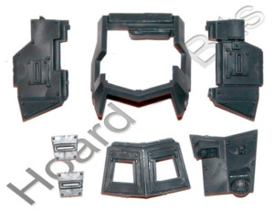 +WARHAMMER 40K BITS IG CADIAN SENTINEL - ARMORED CANOPY