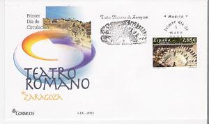 ESPAÑA,2003/FDC*TEATRO ROMANO DE ZARAGOZA