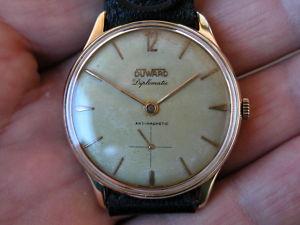 Reloj Swiss Duward Diplomatic 36 00 Mm Maqui Unitas 56 5