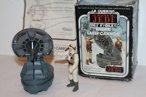 Vintage Star Wars ROTJ RADAR LASER CANNON >BOXED< INSTR