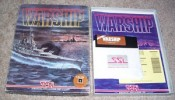 SSI big box Warship game for Commodore 64
