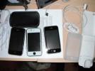 LOT DE 3 APPLE IPHONE 3GS 16 GB 16 GO (ORANGE, SFR)