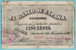 50 Pts, Banco de Santander 1936, BC
