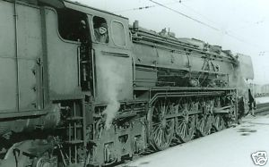 RENFE Spanish Railways Steam Loco 242 2001 Miranda 1966