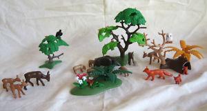 Playmobil Waldleben mit Wildtieren