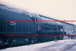 RENFE. Diapositiva Locomotora 241-2101. Miranda,1966