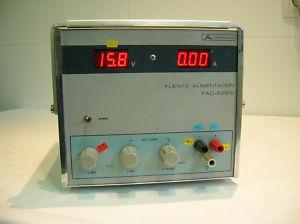 Fuente de alimentación Promax FAC-522B Power Supply