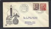 Spain: Letter 1949 Zaragoza (3070)
