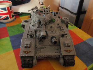 warhammer 40k imperial guard Baneblade super tank
