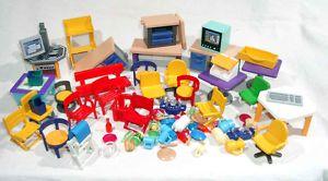 Playmobil großes Konvolut an Hauseinrichtungen u.ä (58)