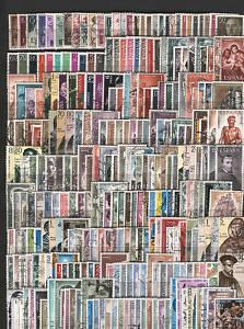 SELLOS DE ESPAÑA USADOS VARIOS DE LOS AÑOS 1950/67