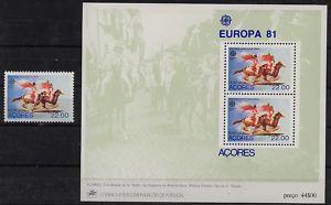 Portugal-Azoren, Europa 1981, ** MNH