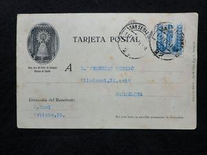 Postal 1943 N.S.Pilar, Zaragoza